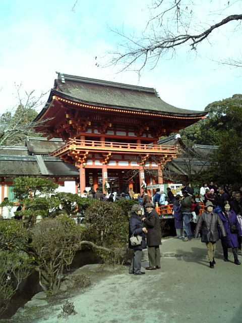 初詣@京都